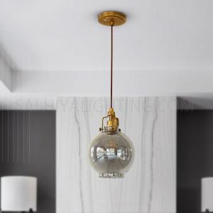 Indoor Martha Pendant Light MD15027387-1B - Brass