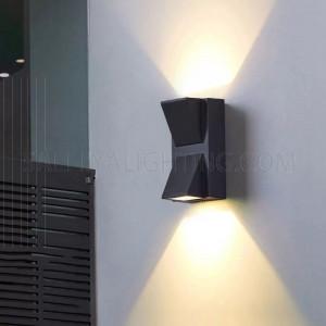 Up & Down Light H2474 IP54 - Black