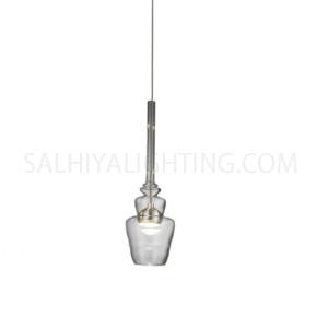 Modern Candace Pendant Lights MD1301A-1A- Chrome Metal