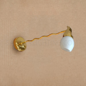 Indoor Wall Sconce -046/00/WH-Gold