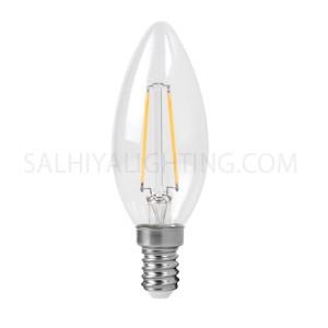Megaman E14 LED Candle Filament Bulb LC1404CS-4W-E14 2700K - Warm White