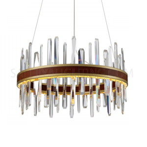 Modern Clear Glass Tubes Chandelier MD80207 750 LED - Bronze