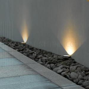 Underground Light CREE LED 7W IP67 3000K - Silver
