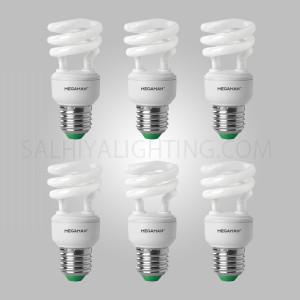 Megaman Energy Saving  11W CFL Bulb Warm White - 6 Pcs