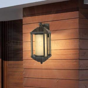Outdoor Wall Light A21-3A -6 - Black