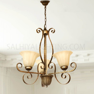 Uplight Chandelier HLH-24108 3Arms
