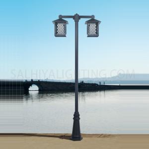 Post Light 143 - 324 - E27 PC Diffuser - Brown