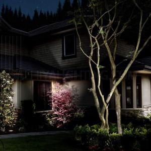 Outdoor Spot Light GU10 9W - Black