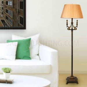 Floor Lamp T59-266-1   Bronze / Beige