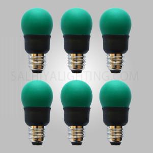 Megaman E27 CFL Green Bulb Energy Saving GA607YL 7W - 6 Pcs