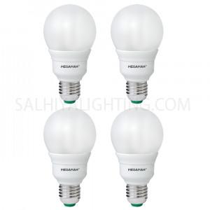 Megaman GSU218I Energy Saving 18W CFL Classic Bulb Warm White - 4 Pcs