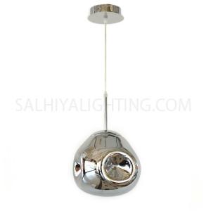 Modern Delilah Pendant Light D170909 - Silver