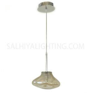 Modern Champagne Pendant Light D170910 - Transparent