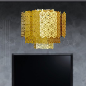 Modern Stylish Hanging Light MD21477- Gold