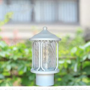 Gate Top Light 1804A  Glass Diffuser - White