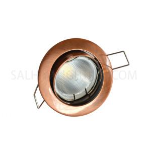 Spot Light Movable Round AL 229B RAB - Bronze