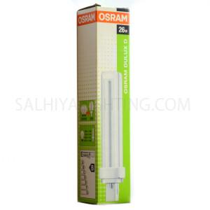 Osram -CFL G24 PL Bulb- 830-4 26W-6500K-Daylight