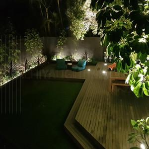 Inground Light NCC-85  LED 3 x 1Watt, Cree 3000K - Warm White