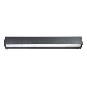 Linear Surface Wall Light Philips LED H1292A  15W Warm White- Graphite