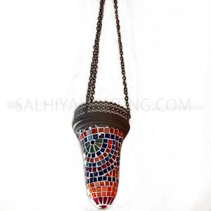 Indoor Mosaic Hanging Light 904  - Brass