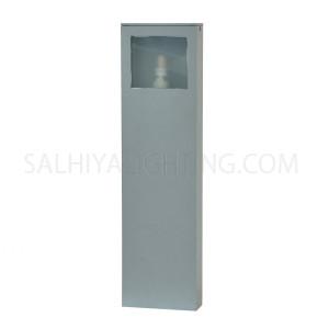 Post Light Bollard-9103-450-1XG9-Silver