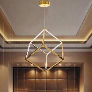 Modern Pendant LED Light 38W- Gold