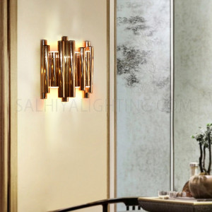 Modern Tubes Christine Wall Sconce 6 Watts - Rose Gold