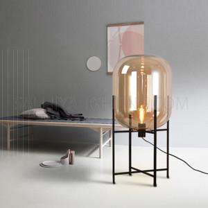 Floor Lamp TRHX03 Glass - Black