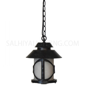 Outdoor Hanging Light OH 8404 - Black