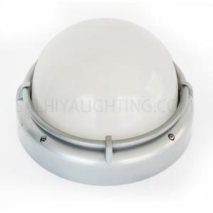 Indoor / Outdoor Bulkhead Light / Wall Light P-831 - Silver