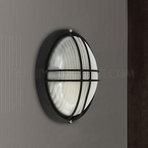 Indoor / Outdoor Bulkhead Light / Wall Light P-843S - Black
