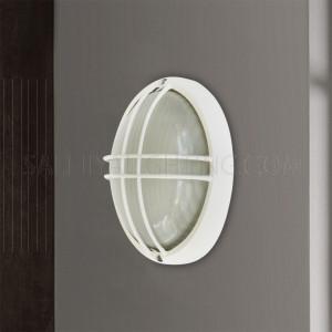 Indoor / Outdoor Bulkhead Light / Wall Light P-843S - White