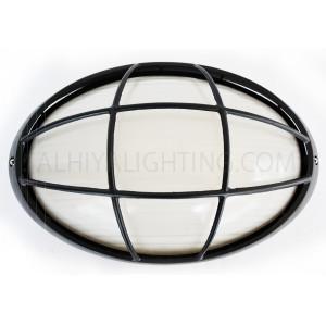 Indoor / Outdoor Bulkhead Light /  Wall Light P-847 - Black
