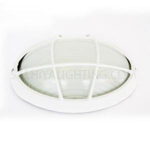 Indoor / Outdoor Bulkhead Light / Wall Light P-847 - White