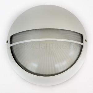 Indoor / Outdoor Bulkhead Light / Wall Light P-845 - White
