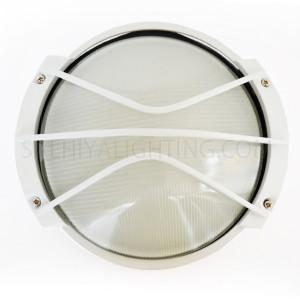 Indoor / Outdoor Bulkhead Light / Wall Light P-823 - White
