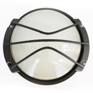 Indoor / Outdoor Bulkhead Light / Wall Light  P-823 - Black