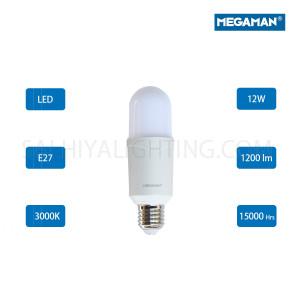 Megaman LED Classic Bulb E27  12W 3000K -Warm White