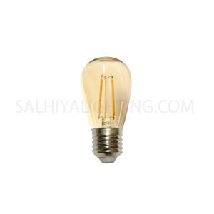 E27 Filament 1.5W  - Amber Bulb