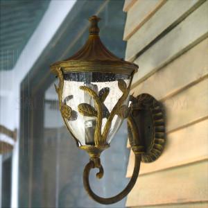 Outdoor Wall Light 0089-M-WU IP44- Black Gold