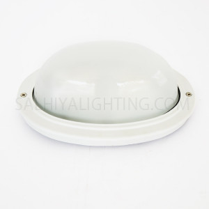 Indoor / Outdoor Bulkhead Light /  Wall Light P-825 - White