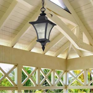 Outdoor Hanging Light OS 6301 - Black