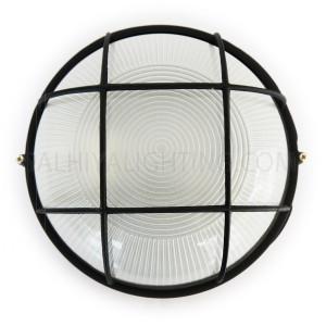 Indoor / Outdoor Bulkhead Light / Wall Bracket P-801 - Black