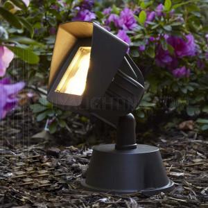 Spike Light 1134 4x1W Warm White -  Black