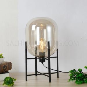 Table Lamp TRHX03-S Glass - Black
