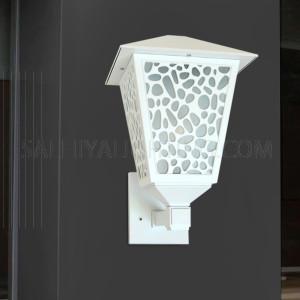 Outdoor Wall Light 147 - 101-E27 Glass Diffuser - White