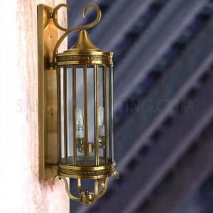 Indoor Arabic Wall Light NT0018 - Brass