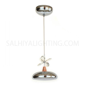 Indoor Hanging Light LED Pendant Light - Chrome