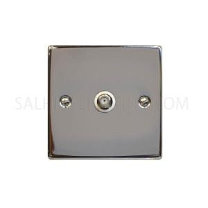 Satellite Switch 1Gang - Chrome