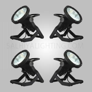 Megaman Earth Spike Light LO102PL 30W Black 4 Pcs